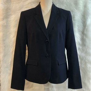 Nine West Blazer Suit Jacket SIze 8 NAVY BLUE